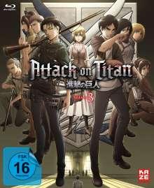 Attack on Titan Staffel 3 Vol. 1 (mit Sammelschuber) (Blu-ray), Blu-ray Disc