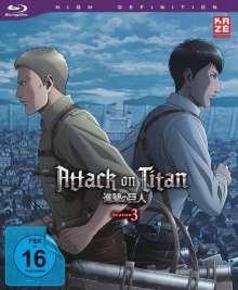 Attack on Titan Staffel 3 Vol. 3 (Blu-ray), Blu-ray Disc