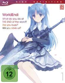 WorldEnd: What do you do at the end of the world? Are you busy? Will you save us? Vol. 1 (Blu-ray), Blu-ray Disc