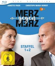 Merz gegen Merz Staffel 1 & 2 (Blu-ray), 2 Blu-ray Discs
