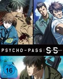 Psycho-Pass: Sinners of the System (3 Filme) (Blu-ray im Steelbook), Blu-ray Disc