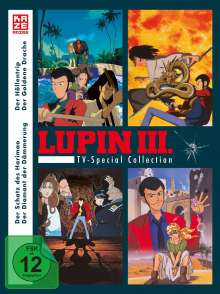 Lupin III. - TV Special Collection, 4 DVDs