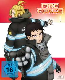 Fire Force Vol. 1 (Blu-ray), 2 Blu-ray Discs