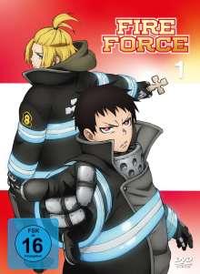 Fire Force Vol. 1, 2 DVDs