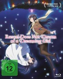 Rascal Does Not Dream of a Dreaming Girl - The Movie (Blu-ray), Blu-ray Disc