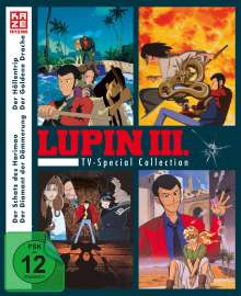 Lupin III. - TV Special Collection (Blu-ray), 4 Blu-ray Discs