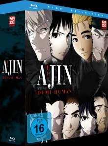 Ajin - Demi-Human (Gesamtausgabe) (Blu-ray), 4 Blu-ray Discs