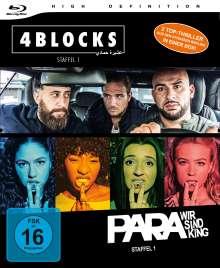 4 Blocks / Para - Wir sind King (Bundle Staffel 1) (Blu-ray), 4 Blu-ray Discs