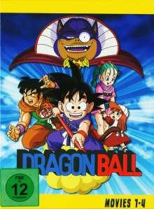 Dragonball Movies (Gesamtausgabe), 4 DVDs