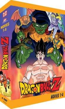Dragonball Z Movies Box 1, 4 DVDs
