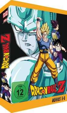 Dragonball Z Movies Box 2, 4 DVDs