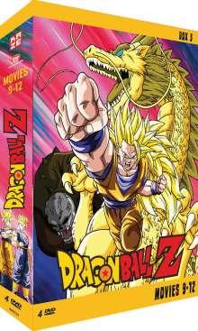 Dragonball Z Movies Box 3, 5 DVDs