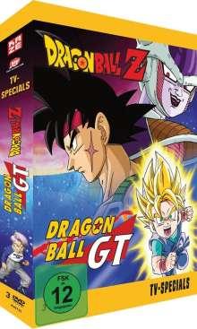 Dragonball Z & Dragonball GT Specials, 3 DVDs
