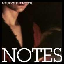 Boris Valentinitsch: Notes, CD