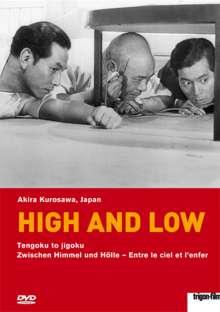 High and Low - Zwischen Himmel und Hölle (OmU), DVD