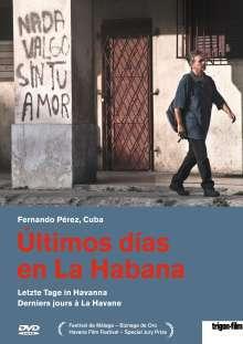 Ultimos dias en La Habana - Letzte Tage in Havanna (OmU), DVD