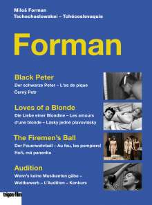 Milos Forman - Box (OmU), 3 DVDs