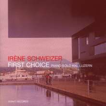 Irene Schweizer (geb. 1941): First Choice - Piano Solo KKL Luzern, CD