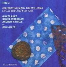 Trio 3 & Geri Allen: Celebrating Mary Lou Williams, CD