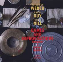 Katharina Weber, Barry Guy & Balts Nilly: Games And Improvisations, CD