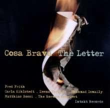 Fred Frith & Cosa Brava: The Letter, CD