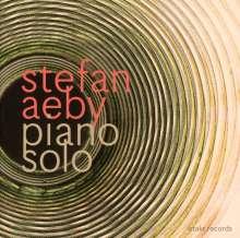 Stefan Aeby (geb. 1979): Piano Solo, CD