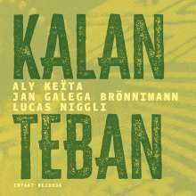 Aly Keïta, Jan Galega Brönnimann & Lucas Niggli: Kalan Teban, CD