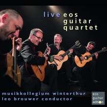 Eos Guitar Quartet - Live, CD