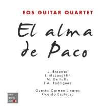 Eos Guitar Quartet - El Alma de Paco (A Tribute to Paco de Lucia), CD