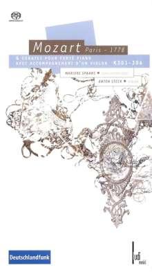 Wolfgang Amadeus Mozart (1756-1791): Sonaten für Violine & Klavier, 2 Super Audio CDs
