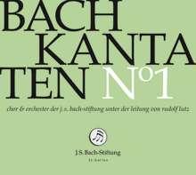 Johann Sebastian Bach (1685-1750): Bach-Kantaten-Edition der Bach-Stiftung St.Gallen - CD 1, CD
