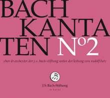 Johann Sebastian Bach (1685-1750): Bach-Kantaten-Edition der Bach-Stiftung St.Gallen - CD 2, CD