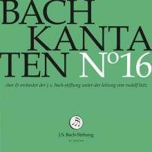 Johann Sebastian Bach (1685-1750): Bach-Kantaten-Edition der Bach-Stiftung St.Gallen - CD 16, CD