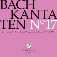 Johann Sebastian Bach (1685-1750): Bach-Kantaten-Edition der Bach-Stiftung St.Gallen - CD 17, CD
