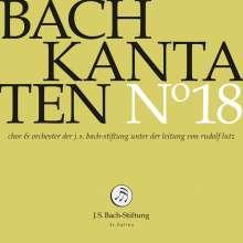 Johann Sebastian Bach (1685-1750): Bach-Kantaten-Edition der Bach-Stiftung St.Gallen - CD 18, CD