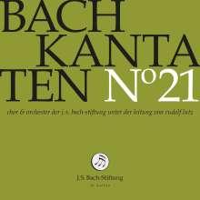 Johann Sebastian Bach (1685-1750): Bach-Kantaten-Edition der Bach-Stiftung St.Gallen - CD 21, CD