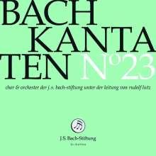 Johann Sebastian Bach (1685-1750): Bach-Kantaten-Edition der Bach-Stiftung St.Gallen - CD 23, CD