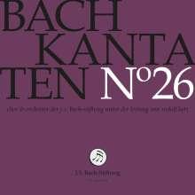 Johann Sebastian Bach (1685-1750): Bach-Kantaten-Edition der Bach-Stiftung St.Gallen - CD 26, CD
