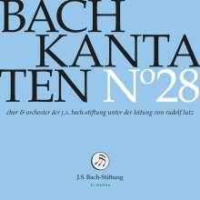 Johann Sebastian Bach (1685-1750): Bach-Kantaten-Edition der Bach-Stiftung St.Gallen - CD 28, CD