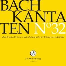 Johann Sebastian Bach (1685-1750): Bach-Kantaten-Edition der Bach-Stiftung St.Gallen - CD 32, CD