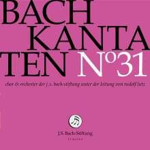 Johann Sebastian Bach (1685-1750): Bach-Kantaten-Edition der Bach-Stiftung St.Gallen - CD 31, CD