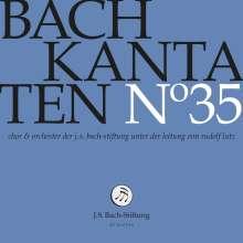 Johann Sebastian Bach (1685-1750): Bach-Kantaten-Edition der Bach-Stiftung St.Gallen - CD 35, CD