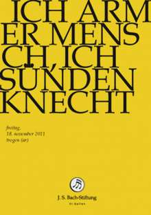 Johann Sebastian Bach (1685-1750): Bach-Kantaten-Edition der Bach-Stiftung St.Gallen - Kantate BWV 55, DVD