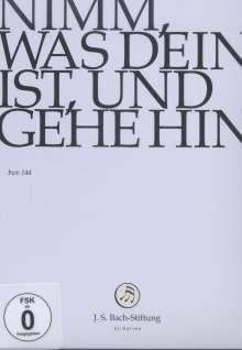 Johann Sebastian Bach (1685-1750): Bach-Kantaten-Edition der Bach-Stiftung St.Gallen - Kantate BWV 144, DVD