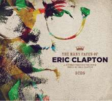 The Many Faces Of Eric Clapton, 3 CDs