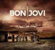 The Many Faces Of Bon Jovi (180g) (Gold W/ Black Splatter Vinyl) (Limited-Edition), 2 LPs