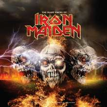 The Many Faces Of Iron Maiden (180g) (Limited Edition) (LP:1 Yellow Vinyl/LP2: Red Translucent Vinyl), 2 LPs