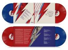 David Bowie (1947-2016): Many Faces Of David Bowie (180g) (Limited Edition) (Translucent Red & Blue Vinyl), 2 LPs