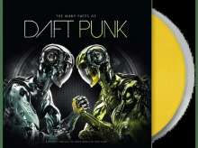 The Many Faces Of Daft Punk (Yellow Transparent Vinyl), 2 LPs