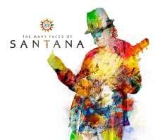The Many Faces Of Santana, 3 CDs